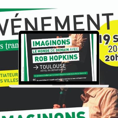 Conférence avec Rob Hopkins, du mouvement des « Villes en transition » - samedi 19/09 à Toulouse