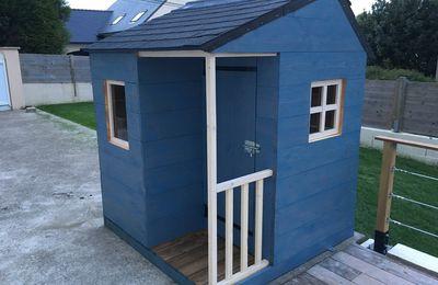 Construire une cabane en bois pour vos enfants