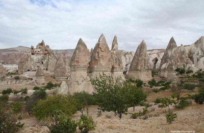 Images-souvenirs de Cappadoce, magnifique région de Turquie