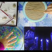Binaural ASMR: Zen Garden, Kinetic Sand, Water Gems/Marbles, & Fiber Optic Light For Relaxation