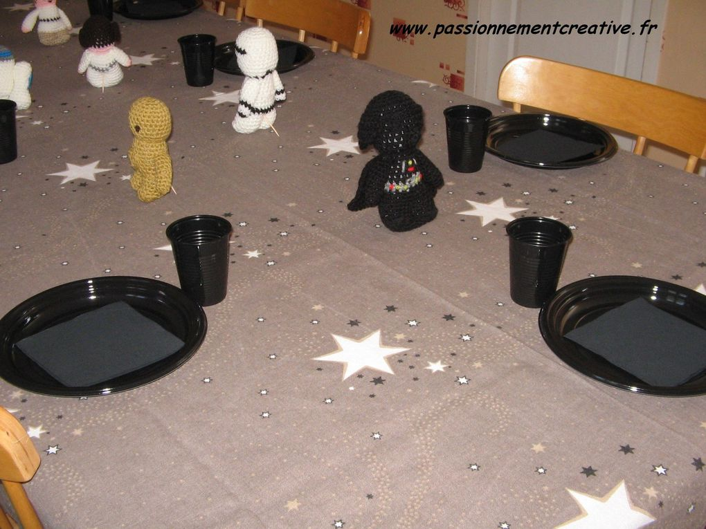Anniversaire Thème Star Wars