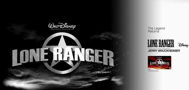 """""""LONE RANGER"""", LE TOURNAGE EST LANCE !"""
