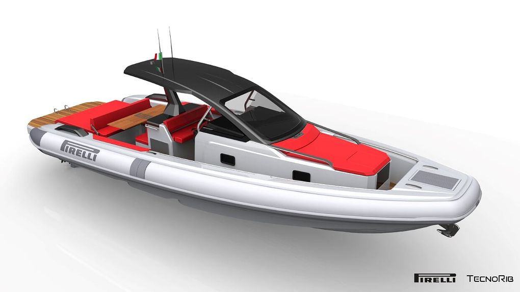 Der neue Pirelli 35 gibt sein Debüt auf dem Wasser