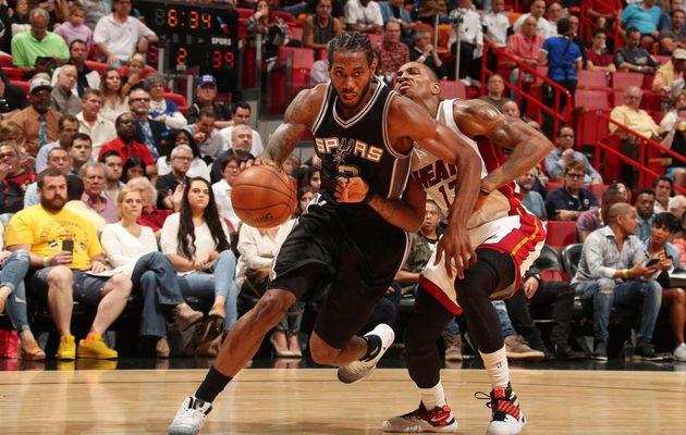 Les Spurs enchaînent en Floride contre le Heat