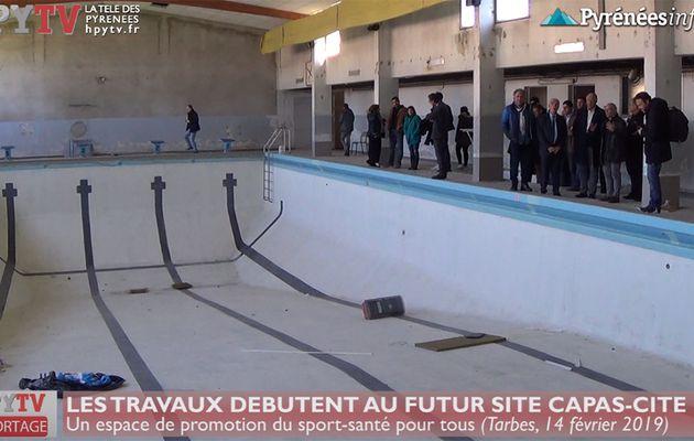 L'ancienne piscine de Tarbes accueillera Capas Cité (14 fév 19) | HPyTv La Télé des Pyrénées