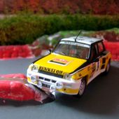 FASCICULE N°54 RENAULT 5 R5 TURBO 1981 MONTE CARLO IXO 1/43 J. RAGNOTTI ET J.M ANDRIE. - car-collector.net