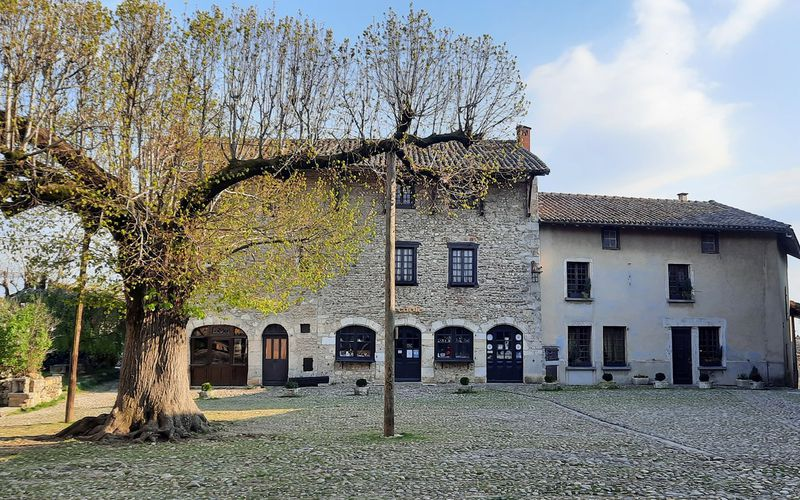 Cité médiévale de Pérouges - France