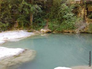 Cascades de l'Aiguebelle près de Pontaix, uniques en leur genre quand il y a de l'eau :)