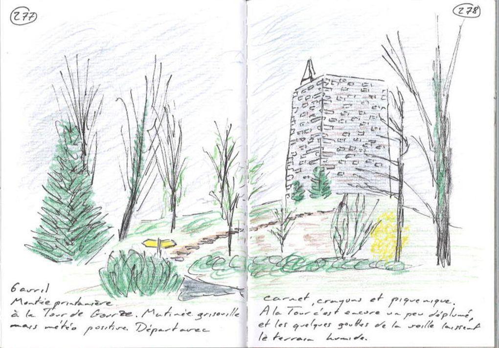 Tour de Gourze, Lavaux