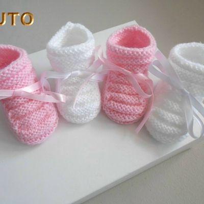 TUTORIEL tricot bébé, création, fait main bb