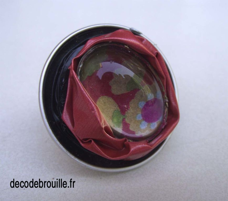 C'est fou ce que l'on peut faire avec ces capsules en alu coloré...