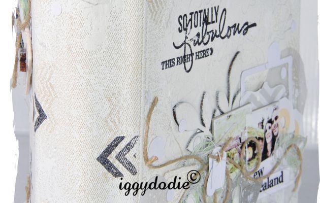 Kit Atelier Album White Paradise