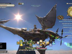 Haaa... Voler dans un aéronef ou le dos d'un dragon...