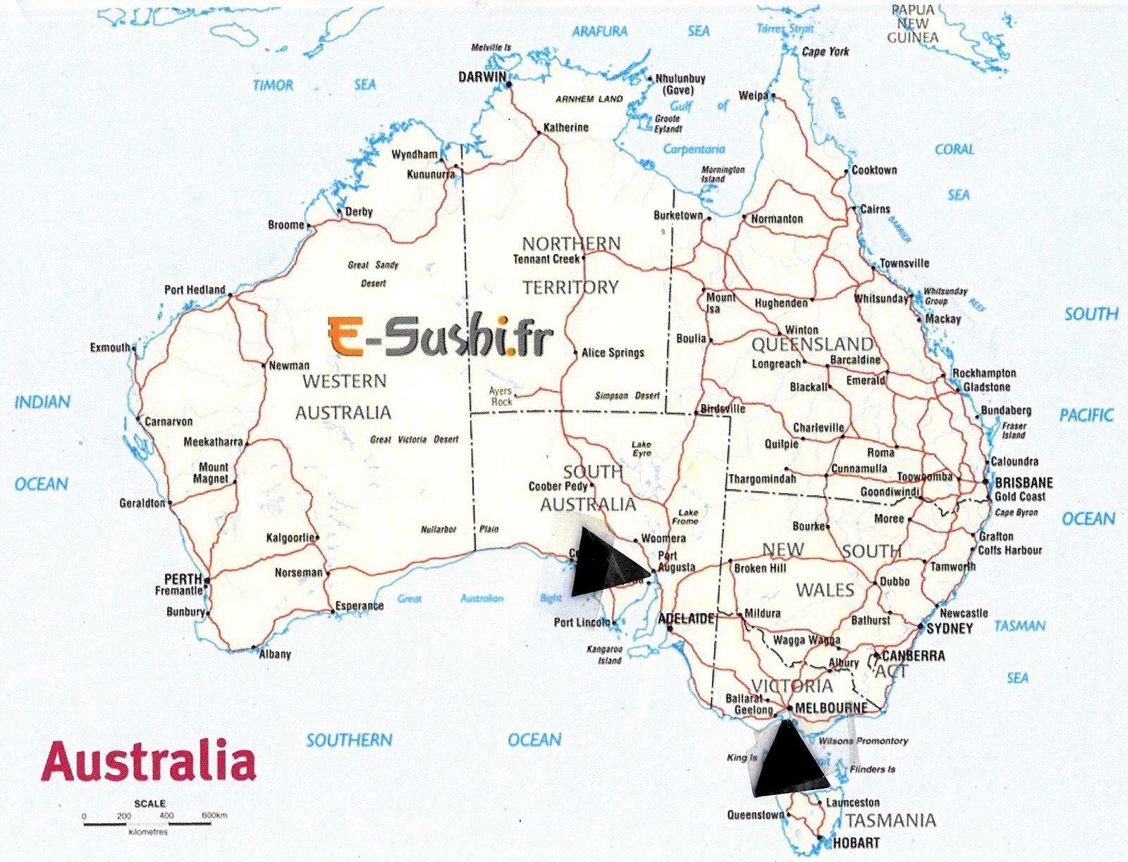 AUSTRALIE : Grand voyage (1)
