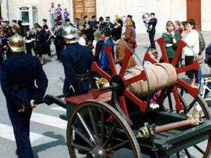 Centenaire du Corps des Sapeurs-Pompiers d'Algrange en 1992