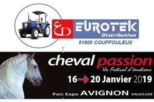 Les tracteurs Lovol partenaires du Salon du cheval d'Avignon