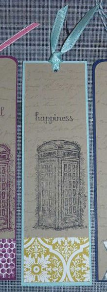 Marques pages en Stampin'up