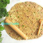 Crackers à la Farine de Châtaigne, aux Tomates Séchées et au Chou Kale