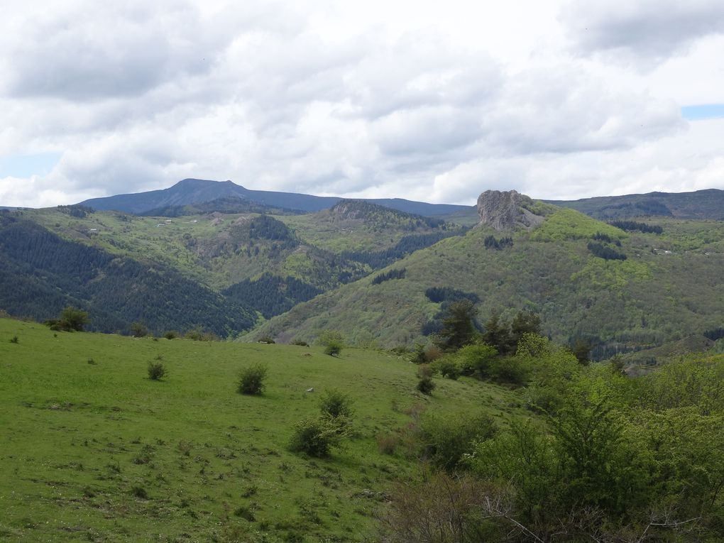 "Rando VTT n°14 ""Entres Crêtes et Vallées"" - Espace VTT Ardèche-Hautes Vallées (Mariac) le 22/05/2021"