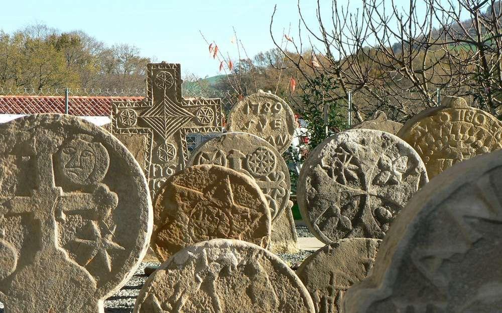 Larceveau - Centre d'interprétation des stèles du Pays basque © Crédit photo : y. martin / www.sudouest.fr
