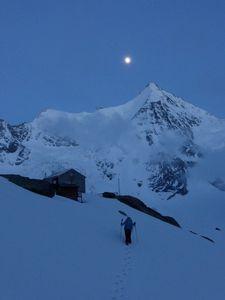 4 Jours de montagne - Aiguille du Jardin, Grande Rocheuse, Aiguille Verte - Face Nord de l'Obergabelhorn