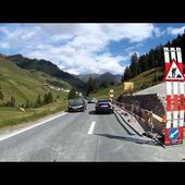 79 Goldwing Unsersbande Tirol 2015 Samnaun ch descente ves la plaine