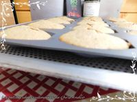 Madeleines healthy coques chocolat