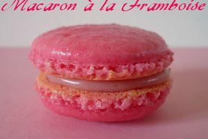 Macarons à la Framboise