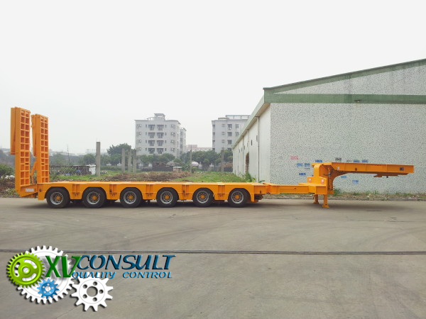 Export China, manufacturing, quality control , semi trailers lowbed  2-3-4-5-6 axles , transport and export service . :info@xvconsult.com
