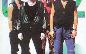 CARTE POSTALE U2 Zooropa