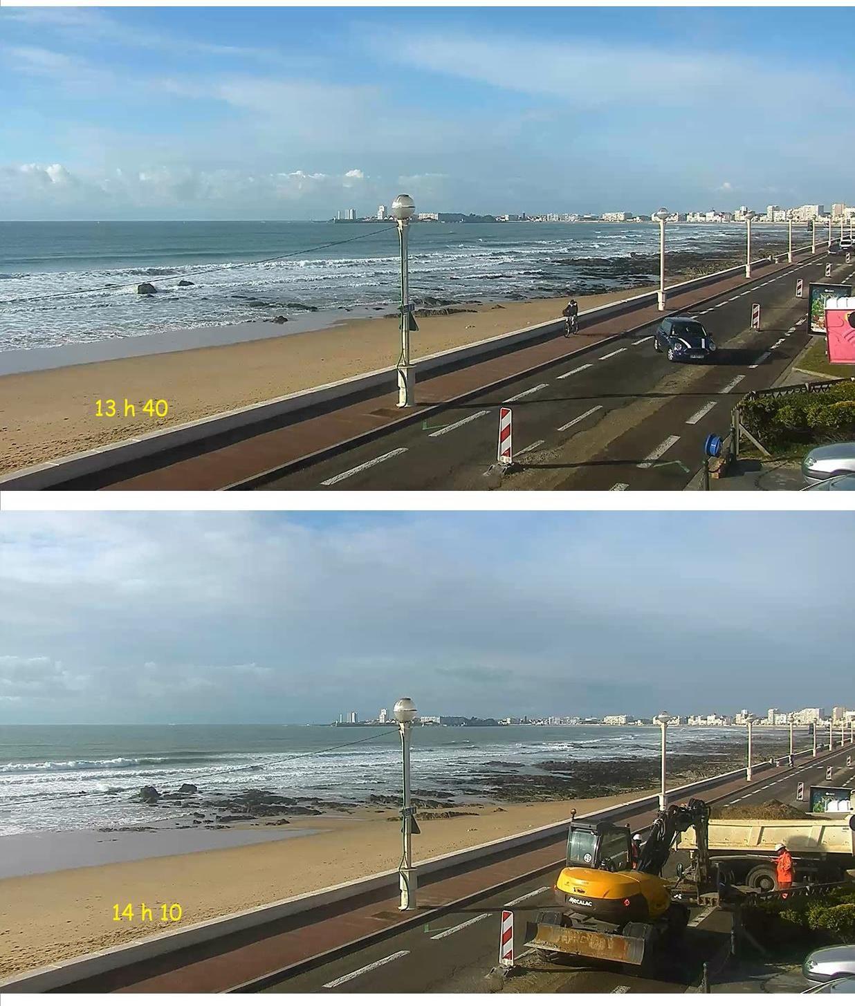 Webcam de la plage du Tanchet