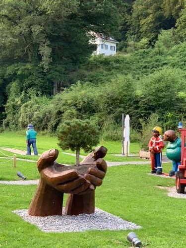 Le parc de l'hôtel de Zweidlen