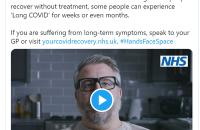 Emission 21 Octobre 2020 - No one is free from risk of #COVID19. Although most people recover without treatment, some people can experience 'Long COVID' for weeks or even months.