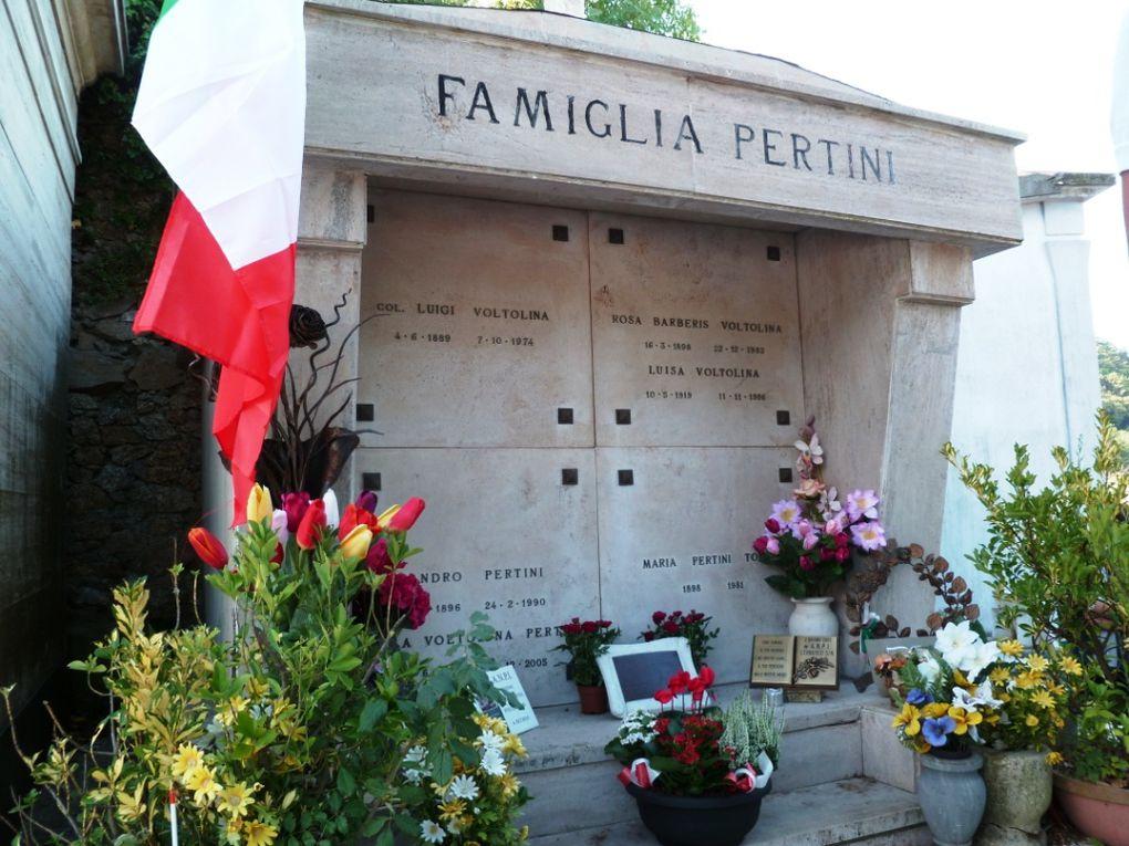 14 settembre 2014: alla casa natale del presidente della Repubblica Sandro Pertini, a Stella (SV)