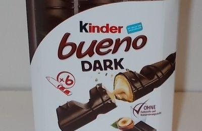 Kinder Bueno Dark mit Milch und Haselnuss