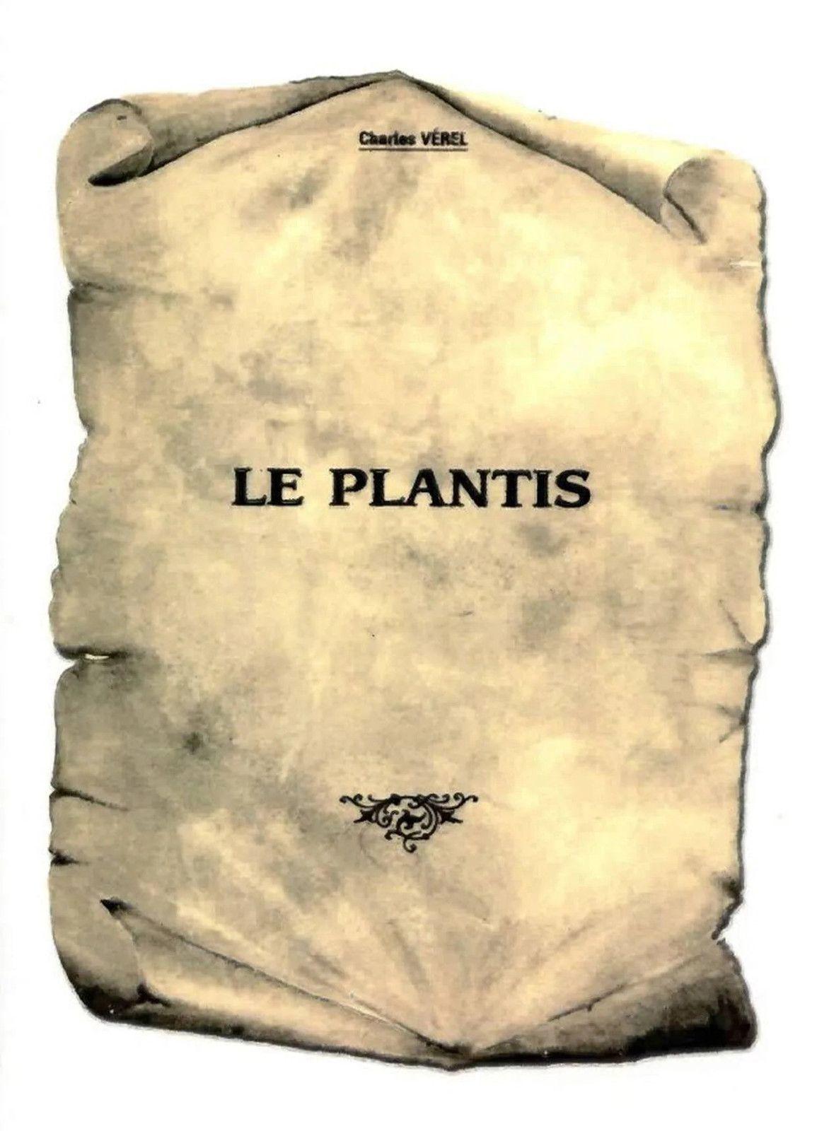 Réédition du livre de Charles Vérel sur la commune du Plantis