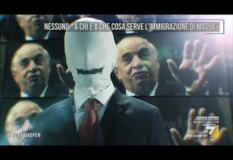 A CHI E A COSA SERVE L'IMMIGRAZIONE DI MASSA