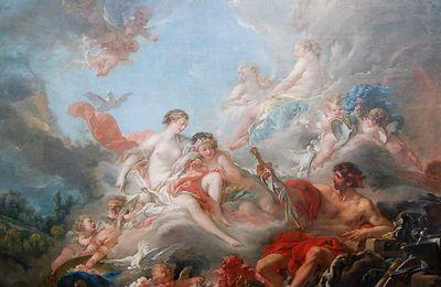 Boucher - Vulcain présentant à Vénus des armes pour Énée