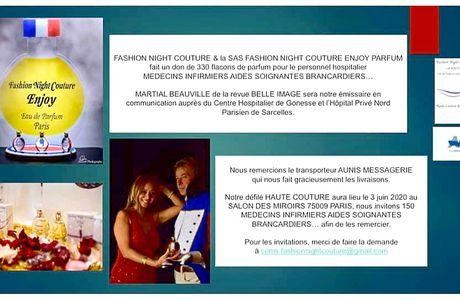 FASHION NIGHT COUTURE fait un don !!!