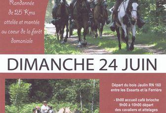 Rando aux Essarts dimanche 24 juin