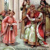 Histoire des Français. Charlemagne et l'école. L'Ecole du palais d'Aix-la-Chapelle. Progrès intellectuels dans les Gaules
