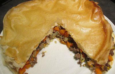 Meat Pie aux carottes