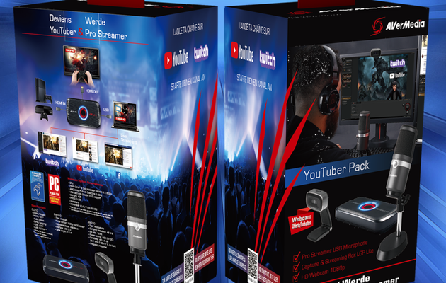 [TEST] AVERMEDIA PACK YOUTUBER : le kit de démarrage idéal pour le streaming et la capture