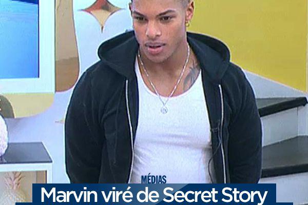 Marvin viré de Secret Story après avoir insulté les habitants ! #SS10