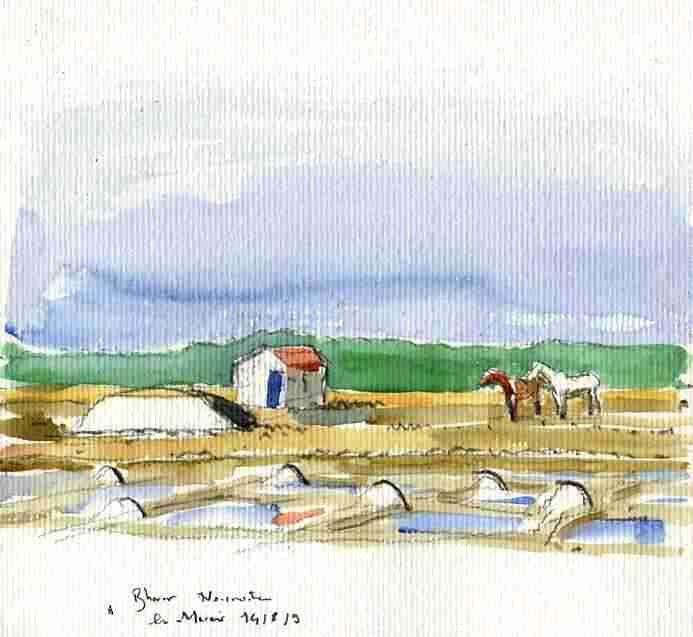 Album - Noirmoutier dessins et aquarelles