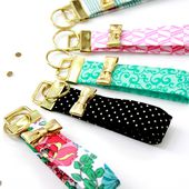 Kate Spade Inspired Key Fobs -