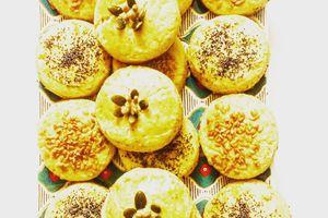 Biscuits salés au  fromage et aux graines