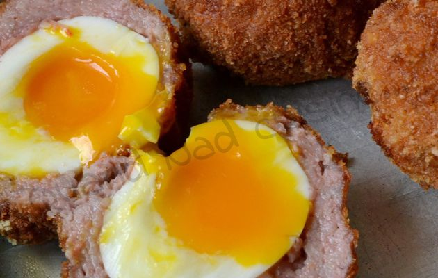 Oeufs à l'écossaise (scotch eggs)