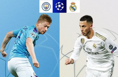 Manchester City / Real Madrid (Champions League) en direct ce vendredi sur RMC Sport 2 !