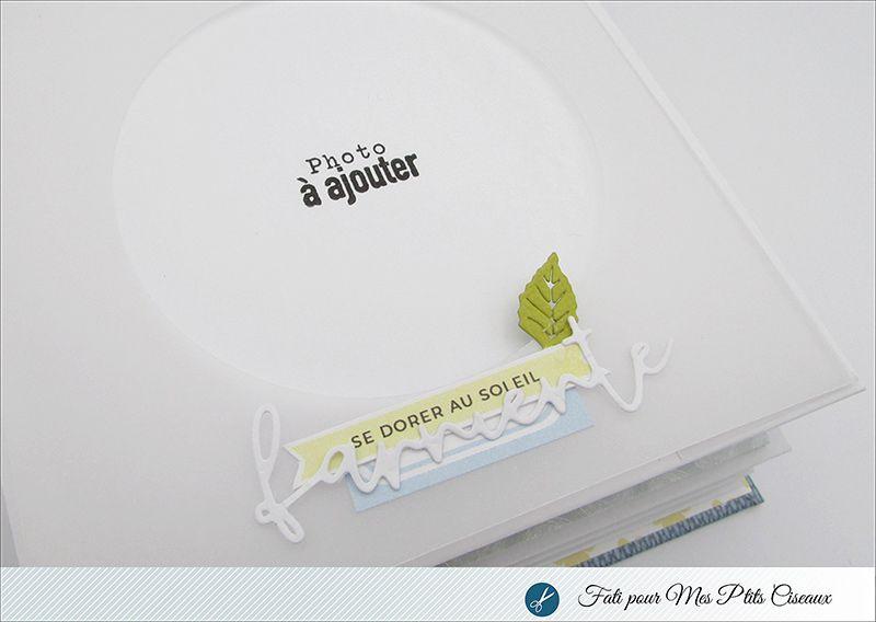 """Mini album """"Happy Sunny Day"""" par Fati"""